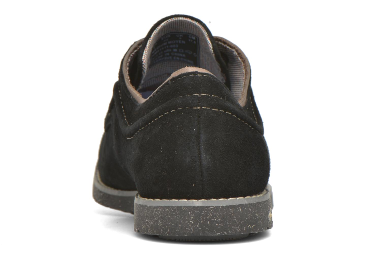 Lace-up shoes Hush Puppies Hade Jester Black view from the right
