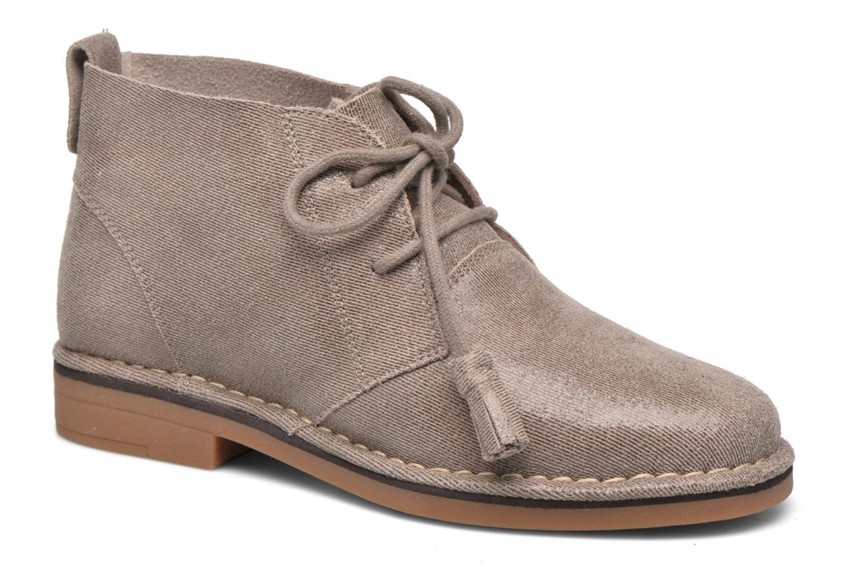 Bottines et boots Hush Puppies Cyra Catelyn Beige vue détail/paire