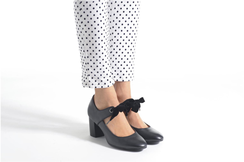 Zapatos de tacón Hush Puppies Margot Langdon Negro vista de abajo