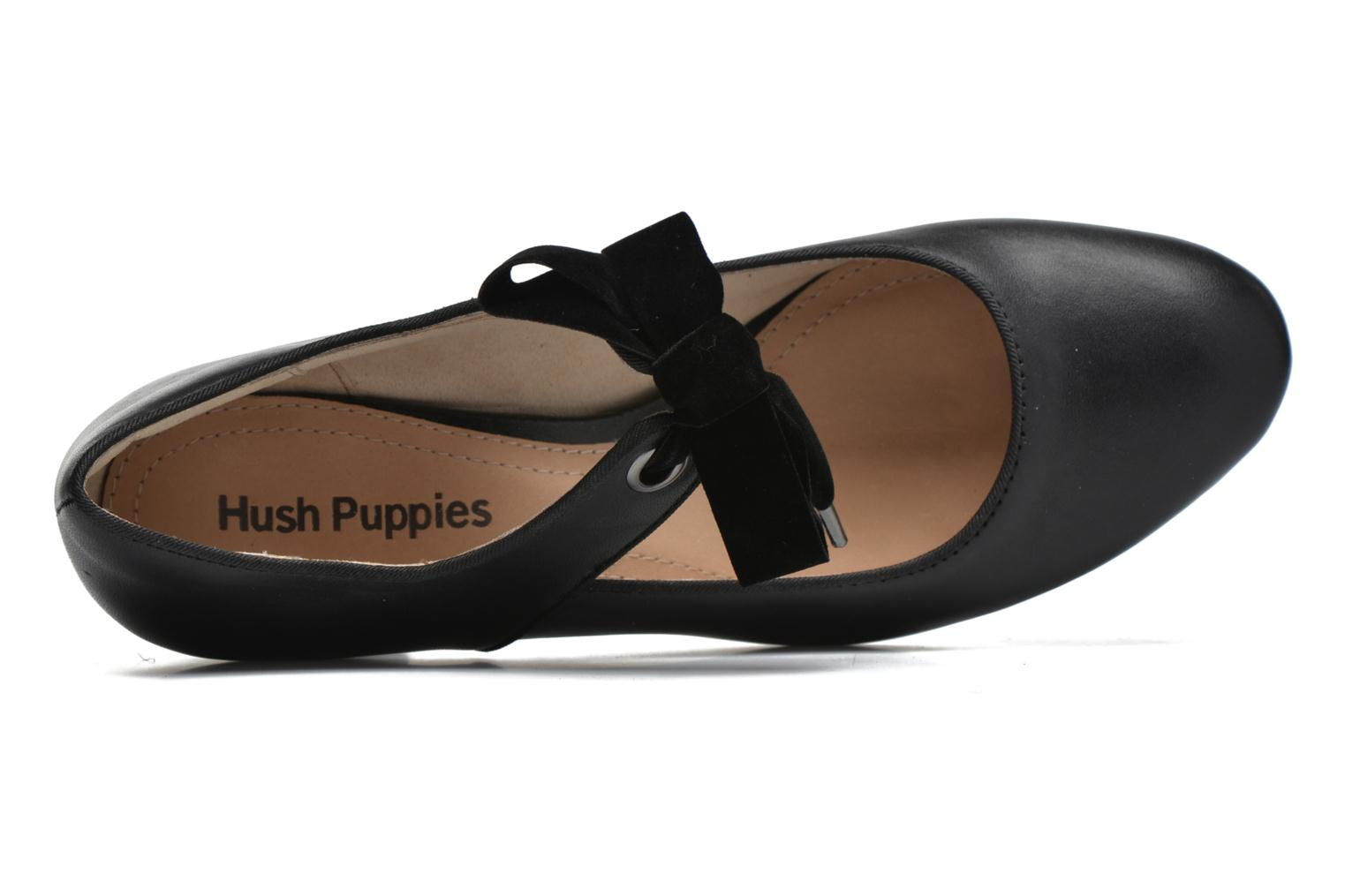 Pumps Hush Puppies Margot Langdon schwarz ansicht von links
