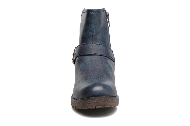 Bottines et boots Refresh Sasha 62161 Bleu vue portées chaussures