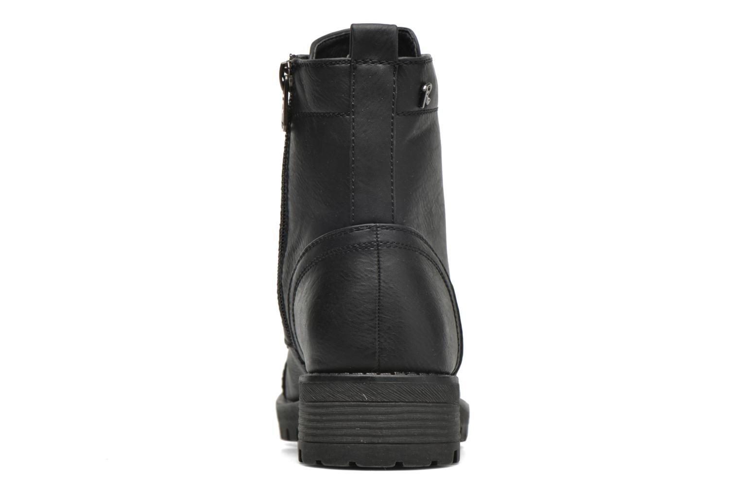 Ankle boots Refresh Cindy 62190 Black view from the right