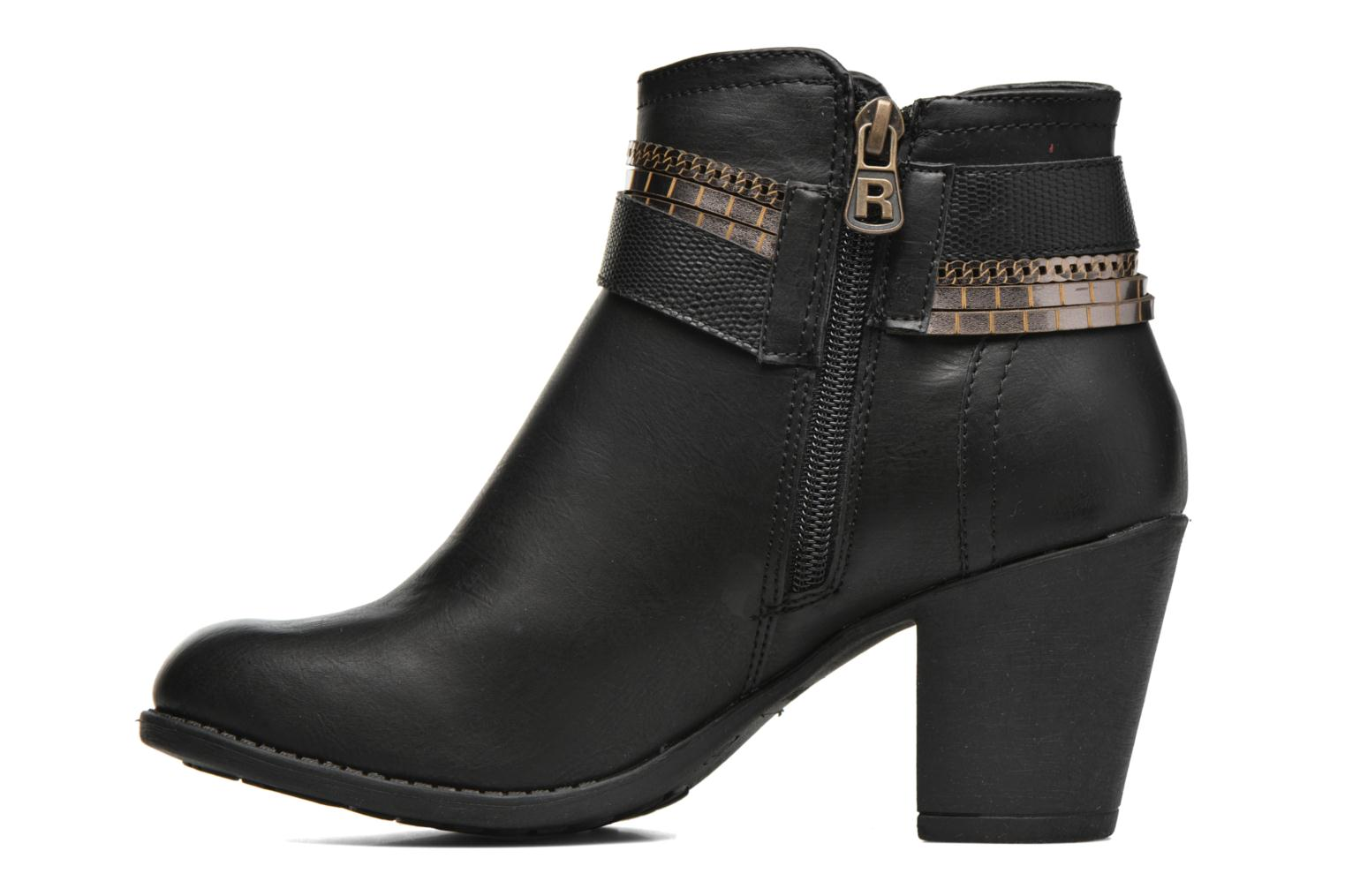 Bottines et boots Refresh Jeanne 63111 Noir vue face