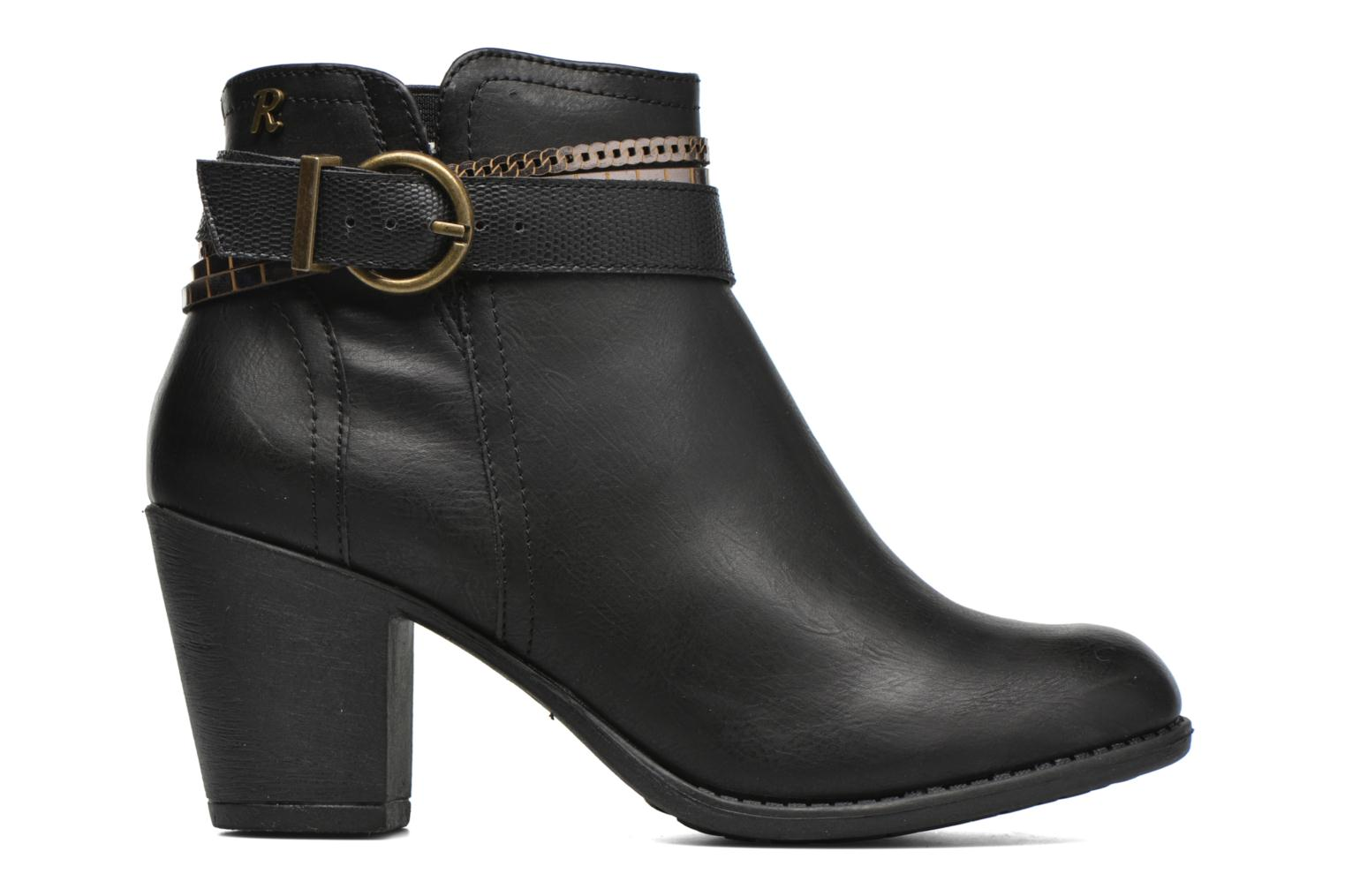 Ankle boots Refresh Jeanne 63111 Black back view