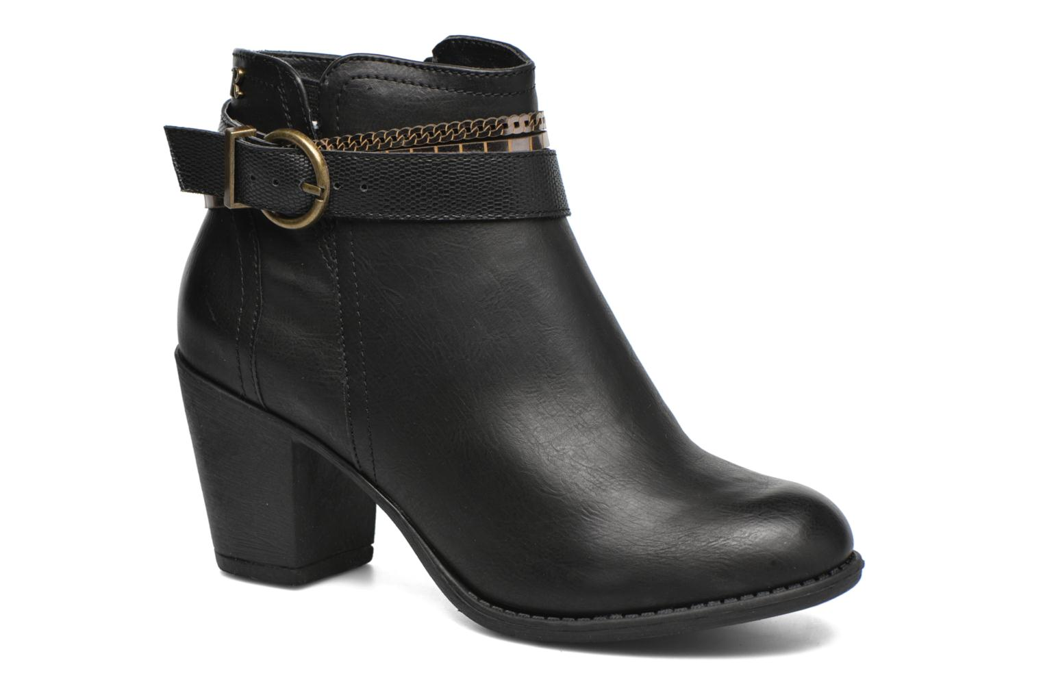 Ankle boots Refresh Jeanne 63111 Black detailed view/ Pair view