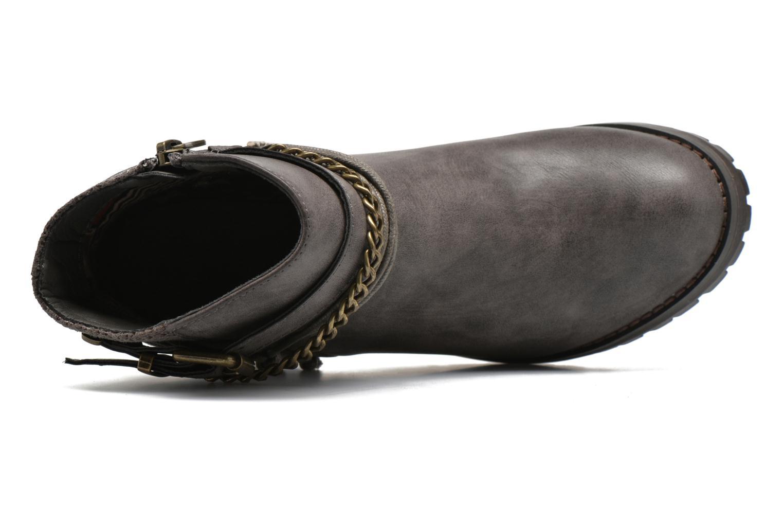 Stiefeletten & Boots Refresh Pauline 63132 grau ansicht von links