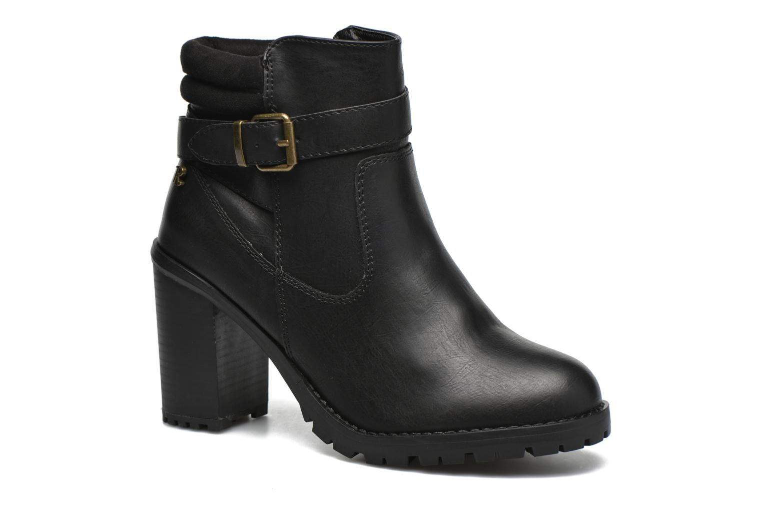 Ankle boots Refresh Margaux 63113 Black detailed view/ Pair view