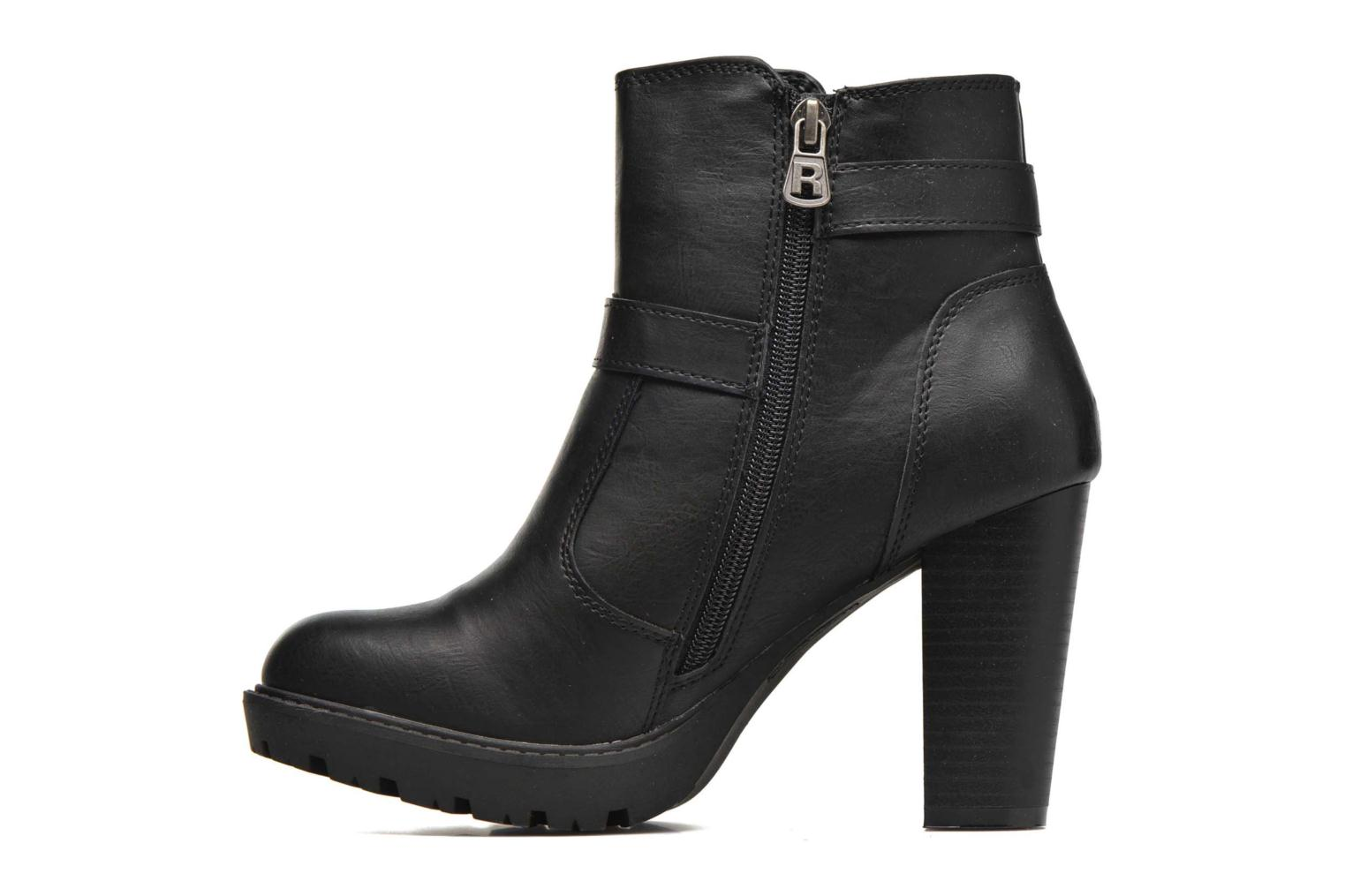 Ankle boots Refresh Fanny 62140 Black front view