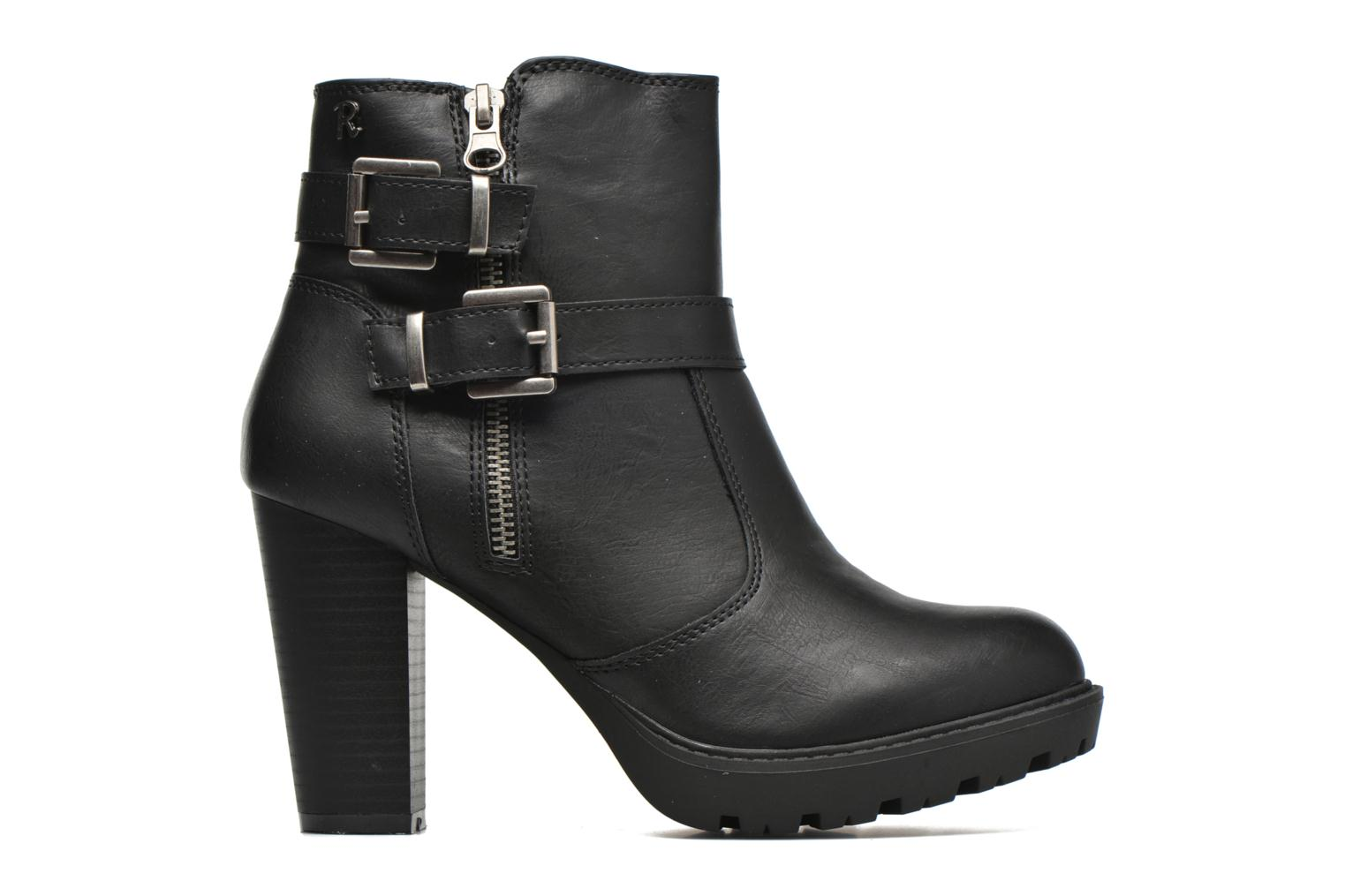 Ankle boots Refresh Fanny 62140 Black back view