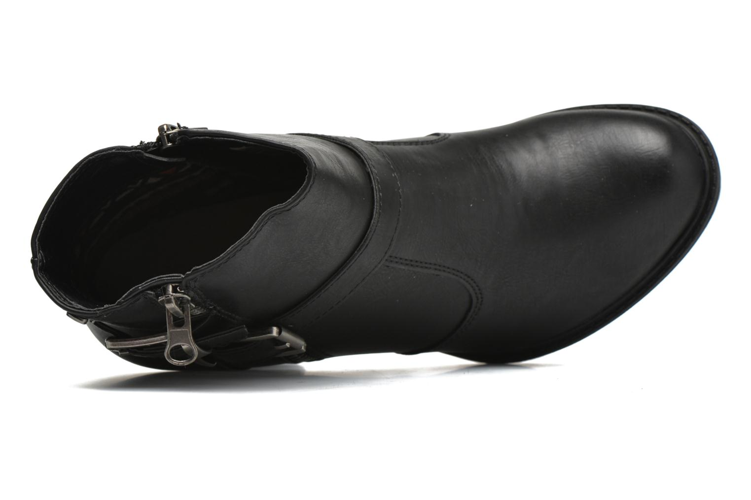 Ankle boots Refresh Fanny 62140 Black view from the left