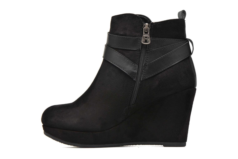 Ankle boots Refresh Cécile 63046 Black front view