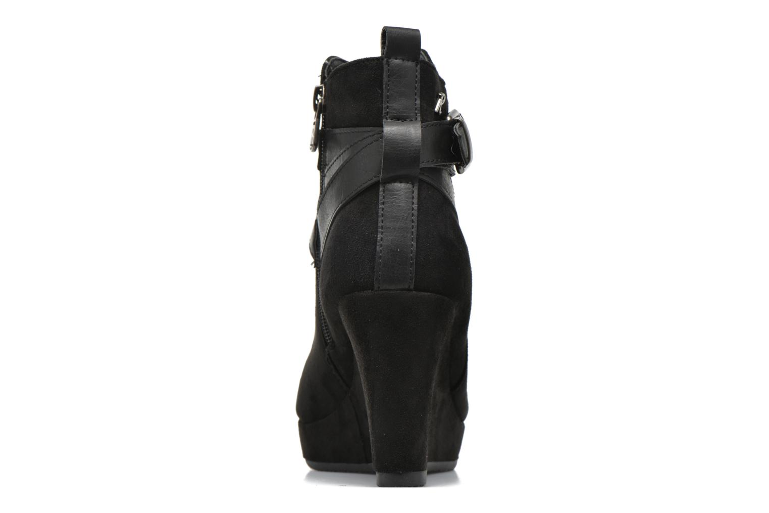 Ankle boots Refresh Cécile 63046 Black view from the right