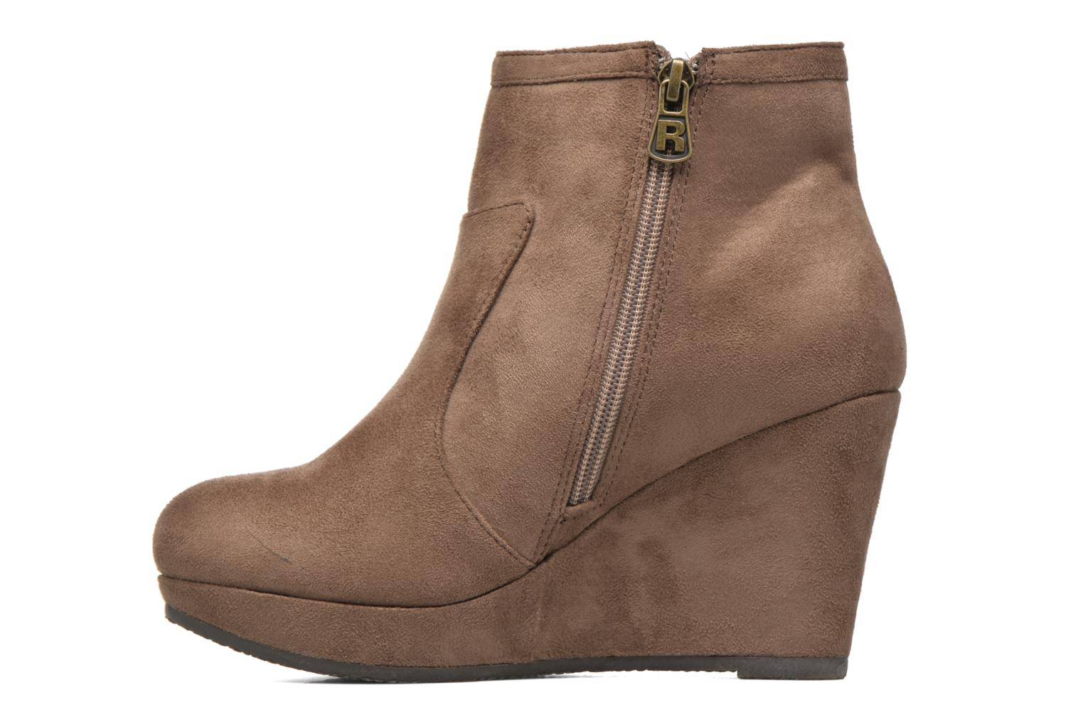 Ankle boots Refresh Flo 62295 Brown front view
