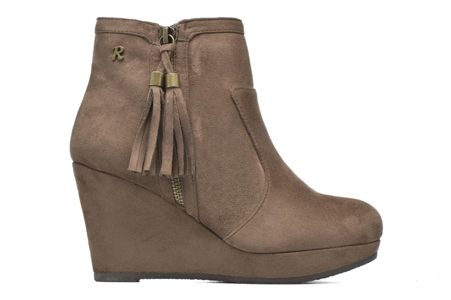 Ankle boots Refresh Flo 62295 Brown back view