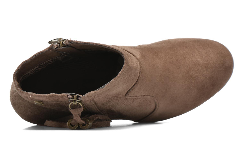 Boots en enkellaarsjes Refresh Flo 62295 Bruin links
