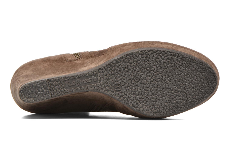 Stiefeletten & Boots Refresh Flo 62295 braun ansicht von oben