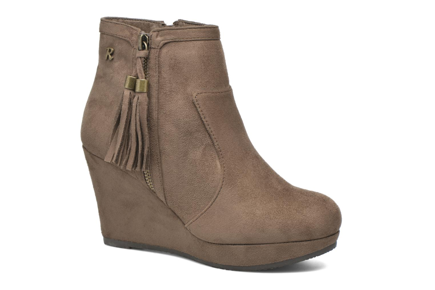 Ankle boots Refresh Flo 62295 Brown detailed view/ Pair view