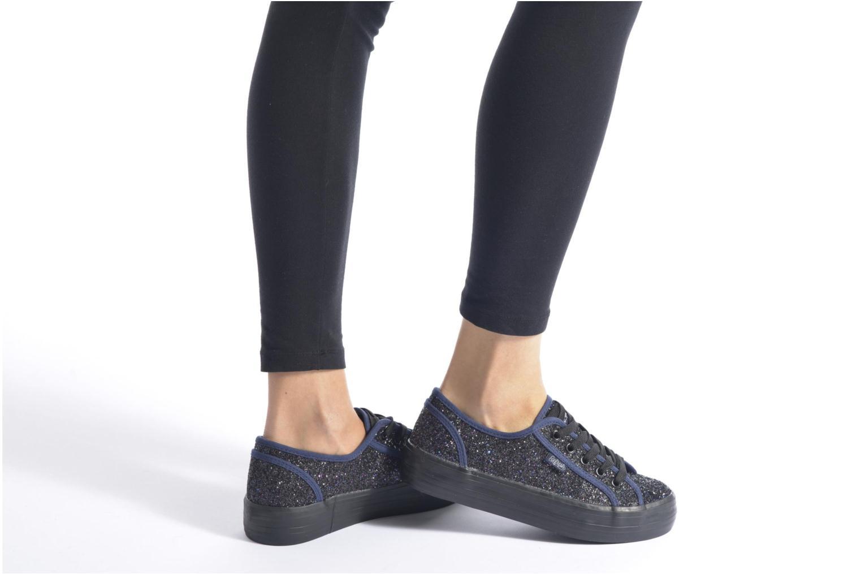 Sneaker Refresh Anna 62223 blau ansicht von unten / tasche getragen