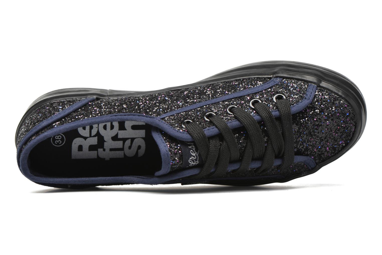 Sneaker Refresh Anna 62223 blau ansicht von links
