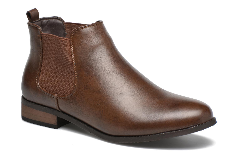 Grandes descuentos últimos Botines zapatos Divine Factory Mailys (Marrón) - Botines últimos  Descuento 748eab