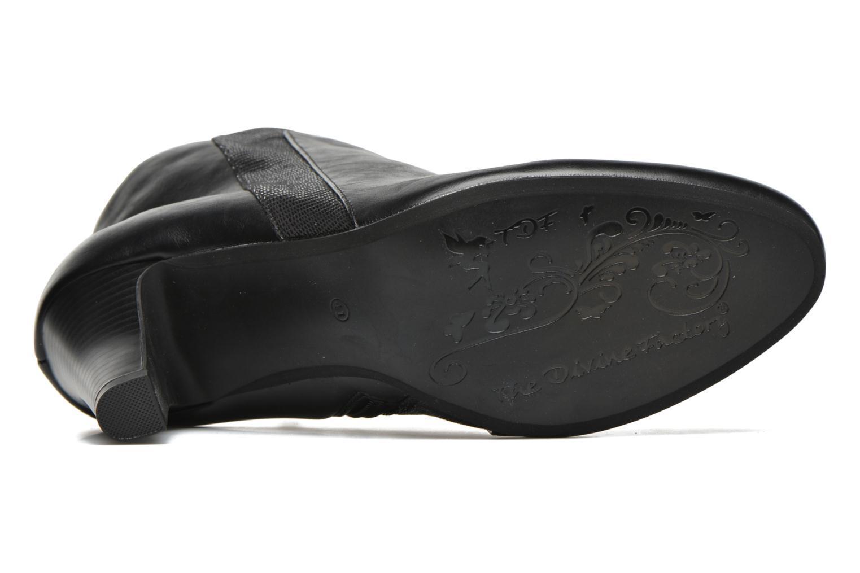 Stiefeletten & Boots Divine Factory Clara schwarz ansicht von oben
