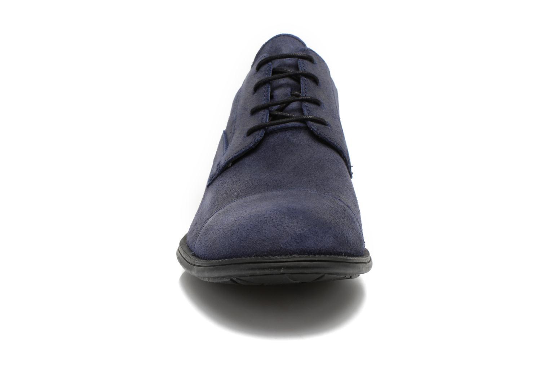 Schnürschuhe Camper 191 318 979 blau schuhe getragen