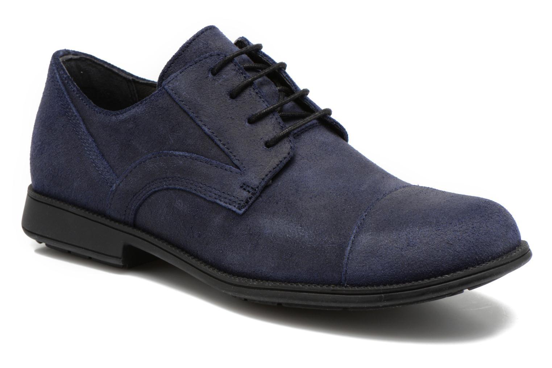 Chaussures à lacets Camper 191 318 979 Bleu vue détail/paire