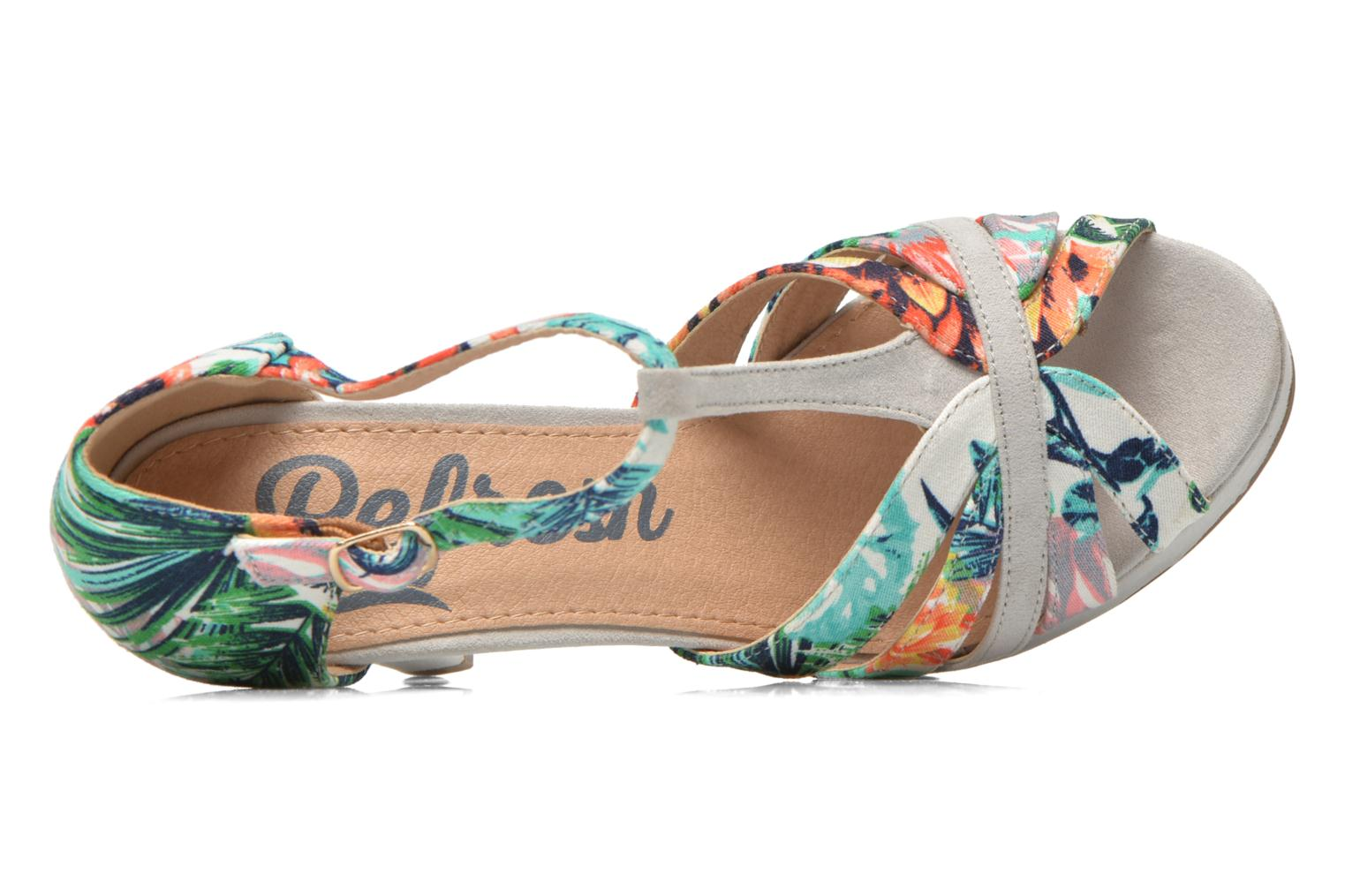 Sandals Refresh Fanisia-60952 Multicolor view from the left