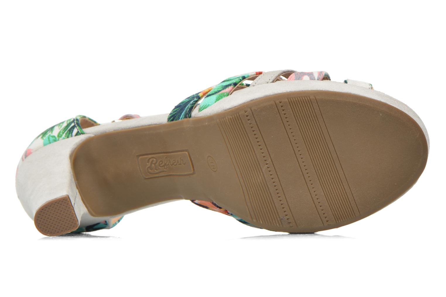 Sandals Refresh Fanisia-60952 Multicolor view from above