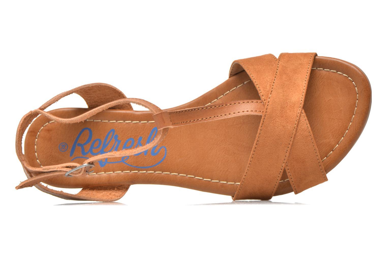 Sandaler Refresh Jardina-61785 Brun se fra venstre