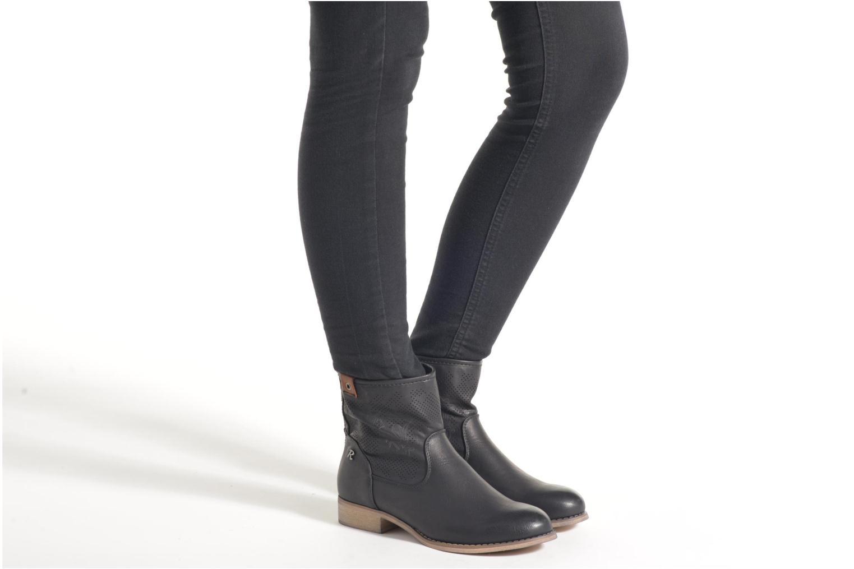 Bottines et boots Refresh Zélina-61983 Beige vue bas / vue portée sac