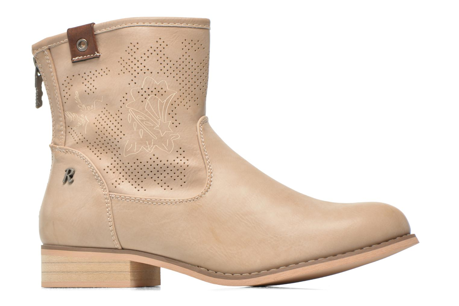 Ankle boots Refresh Zélina-61983 Beige back view