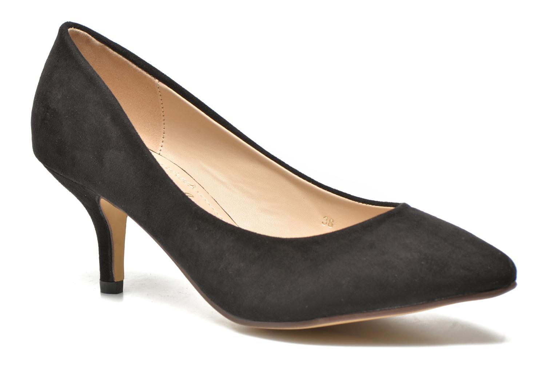 Høje hæle Refresh Coquelina-62054 Sort detaljeret billede af skoene