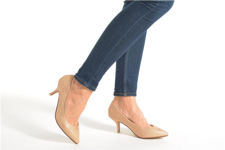 Zapatos de tacón Refresh Inidia-62055 Plateado vista de abajo