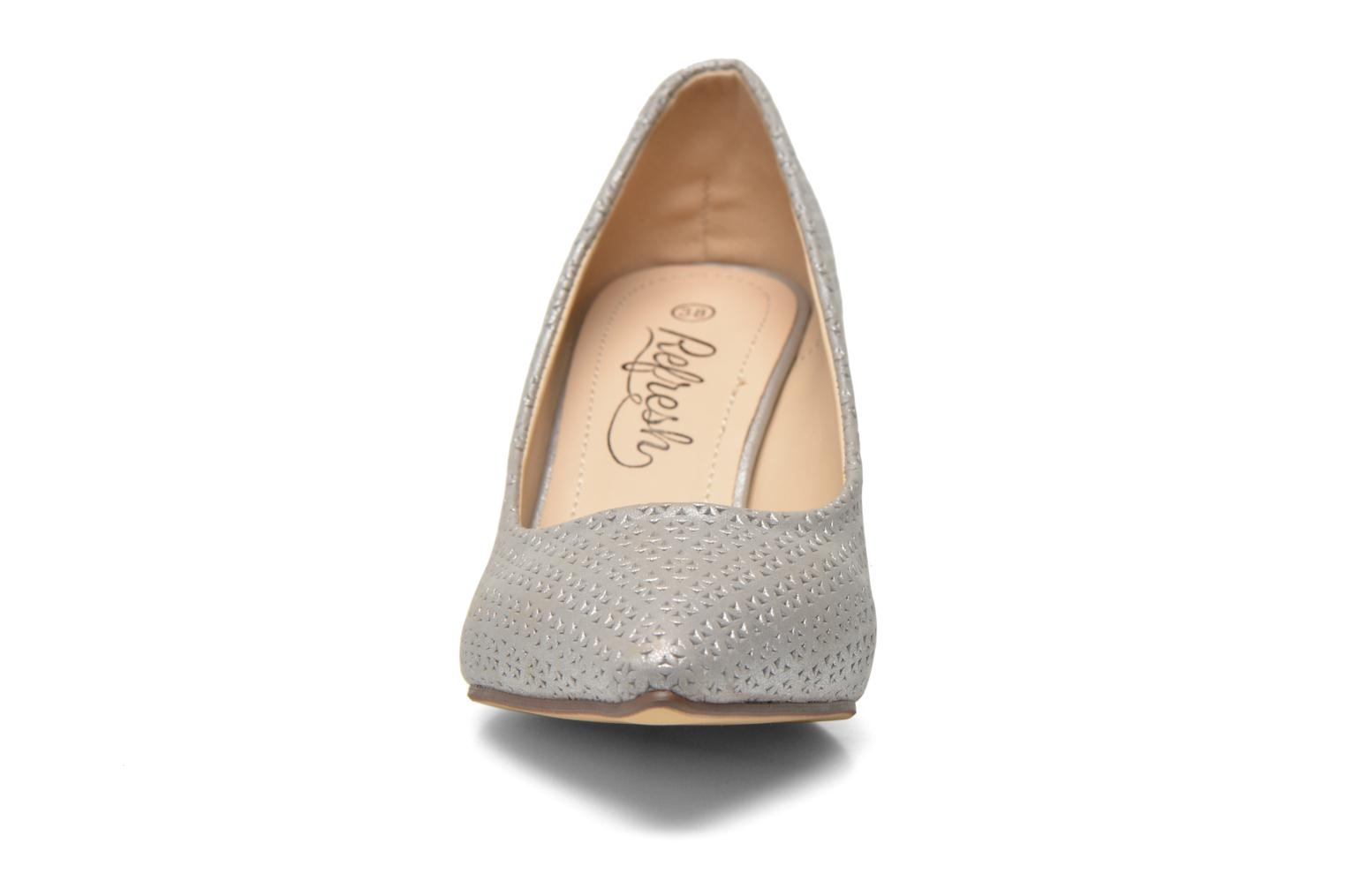 High heels Refresh Inidia-62055 Silver model view