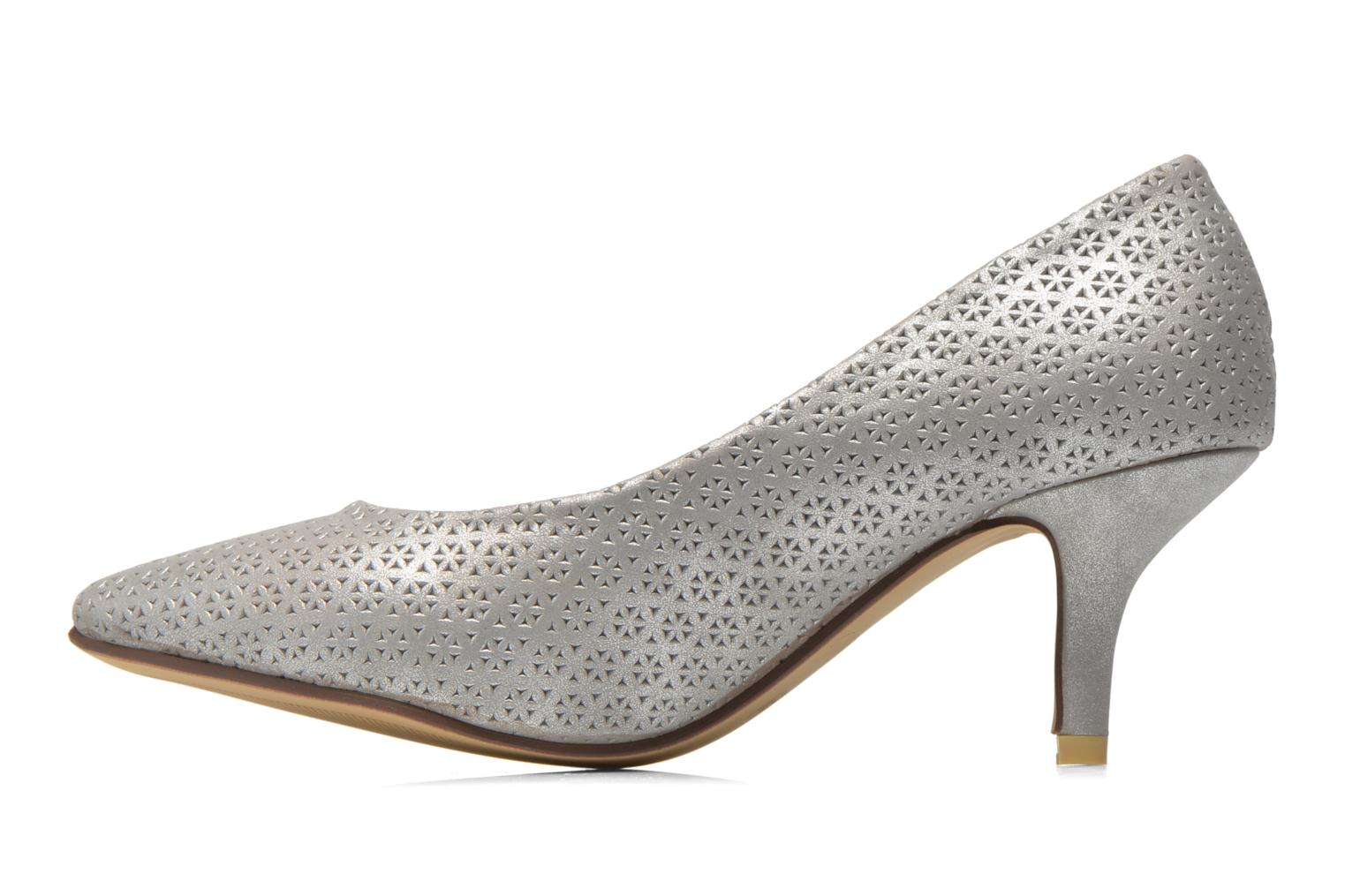 High heels Refresh Inidia-62055 Silver front view