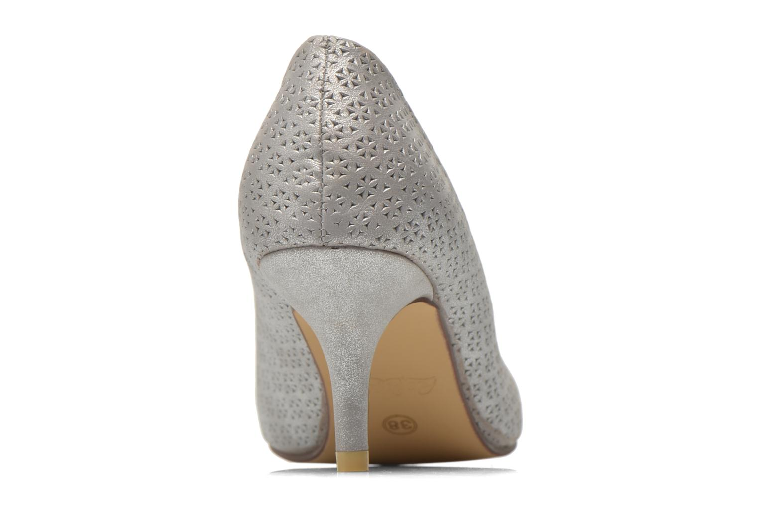 High heels Refresh Inidia-62055 Silver view from the right