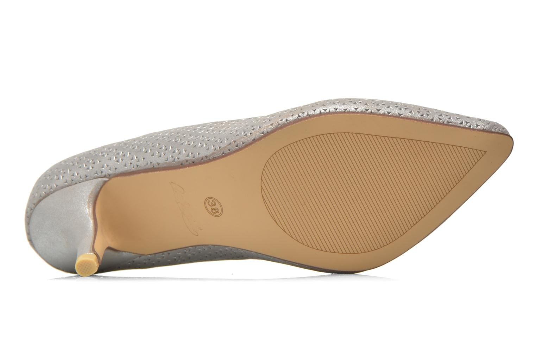 Zapatos de tacón Refresh Inidia-62055 Plateado vista de arriba