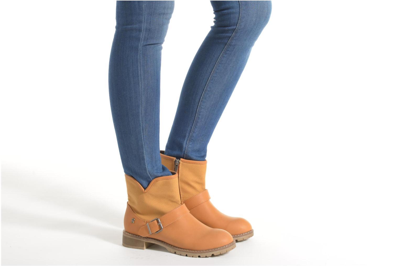 Bottines et boots Refresh Lorma-62083 Marron vue bas / vue portée sac