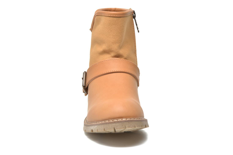 Bottines et boots Refresh Lorma-62083 Marron vue portées chaussures
