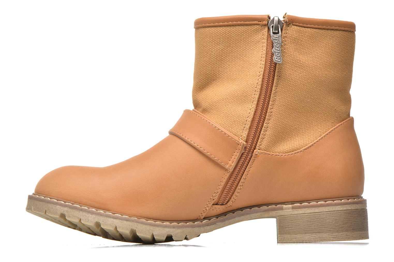 Bottines et boots Refresh Lorma-62083 Marron vue face