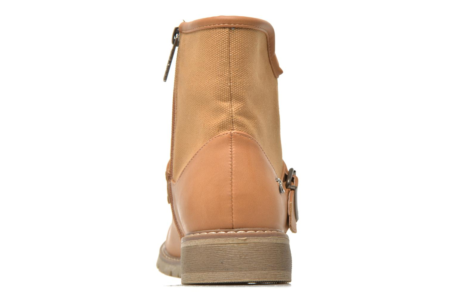 Ankle boots Refresh Lorma-62083 Brown view from the right