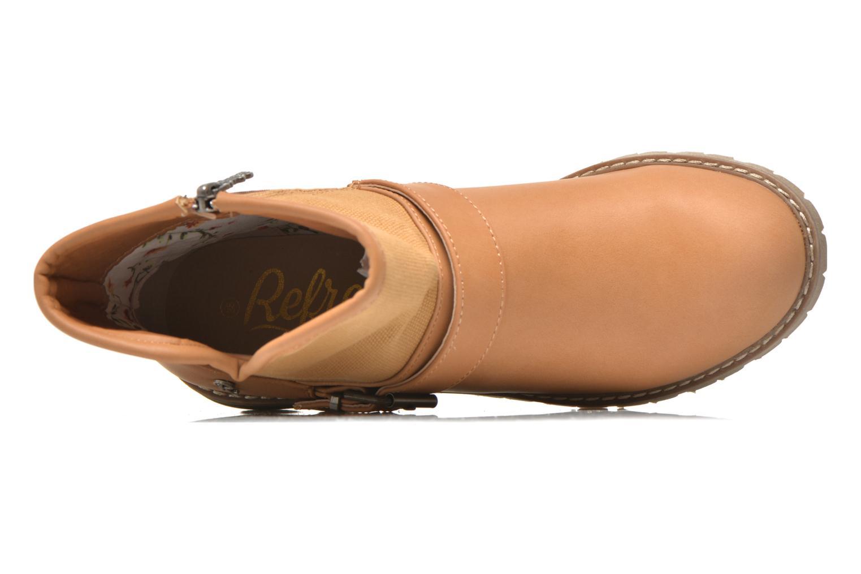 Bottines et boots Refresh Lorma-62083 Marron vue gauche