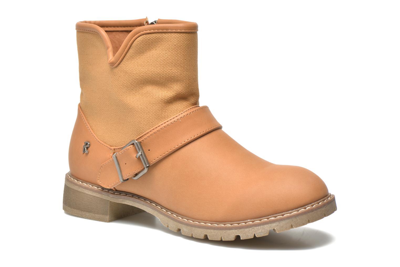 Bottines et boots Refresh Lorma-62083 Marron vue détail/paire