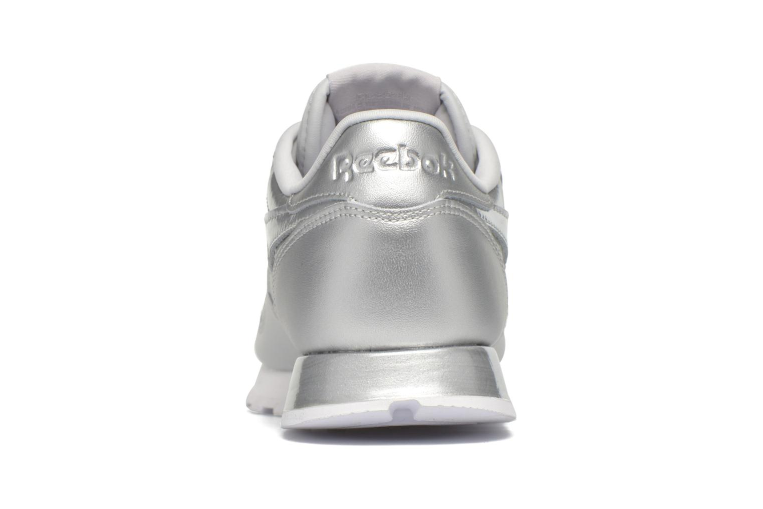 Cl Lthr Matte Shine Skull Grey/White/Silver