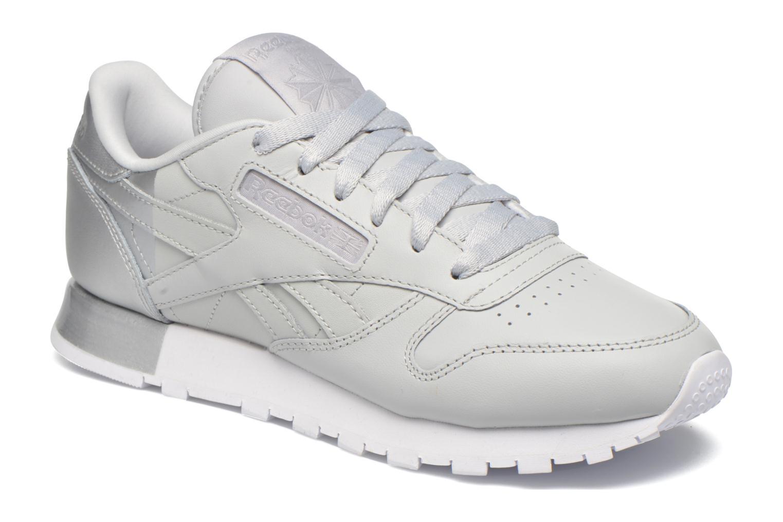 Grandes descuentos últimos zapatos Reebok Cl Lthr Matte Shine (Gris) - Deportivas Descuento