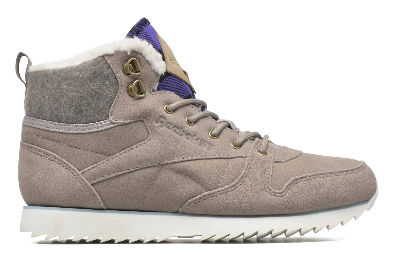 Sneaker Reebok Cl Lthr Mid Outdoor grau ansicht von hinten