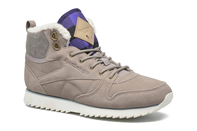 Sneaker Reebok Cl Lthr Mid Outdoor grau detaillierte ansicht/modell