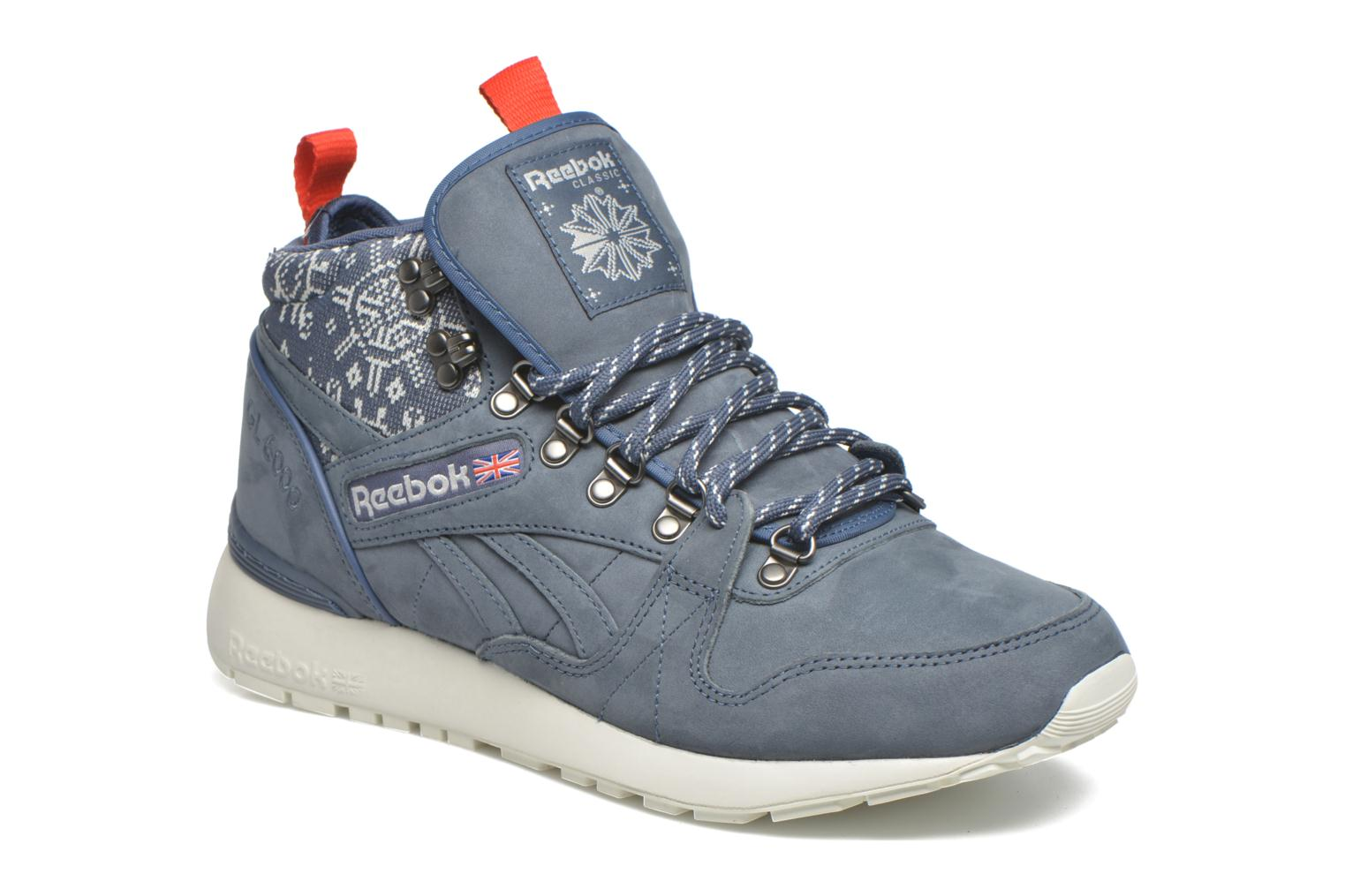 Trainers Reebok Gl 6000 Mid Sg Blue detailed view/ Pair view