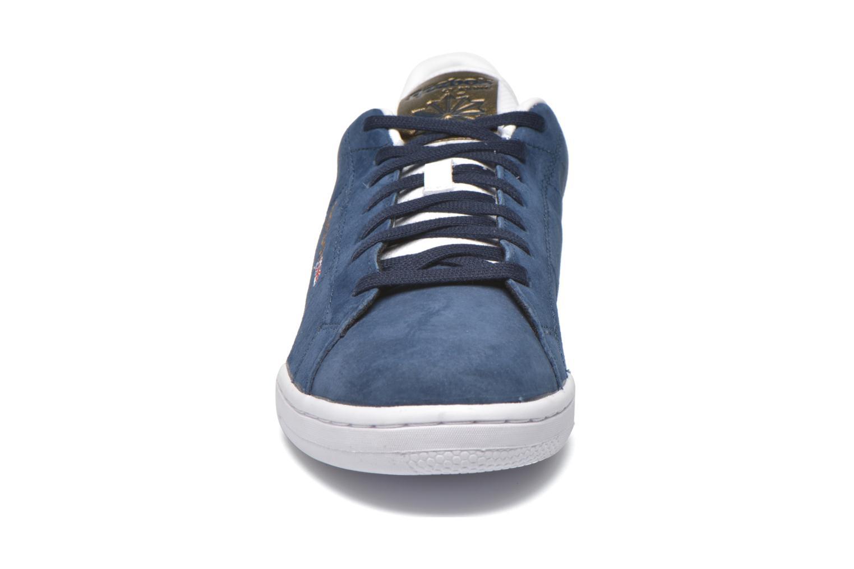 Baskets Reebok Npc II Met Bleu vue portées chaussures